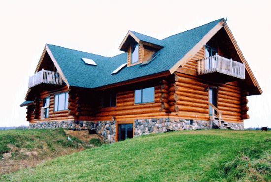 Koski Log Homes, Handcrafted by Jerry Koski of Ontonagon